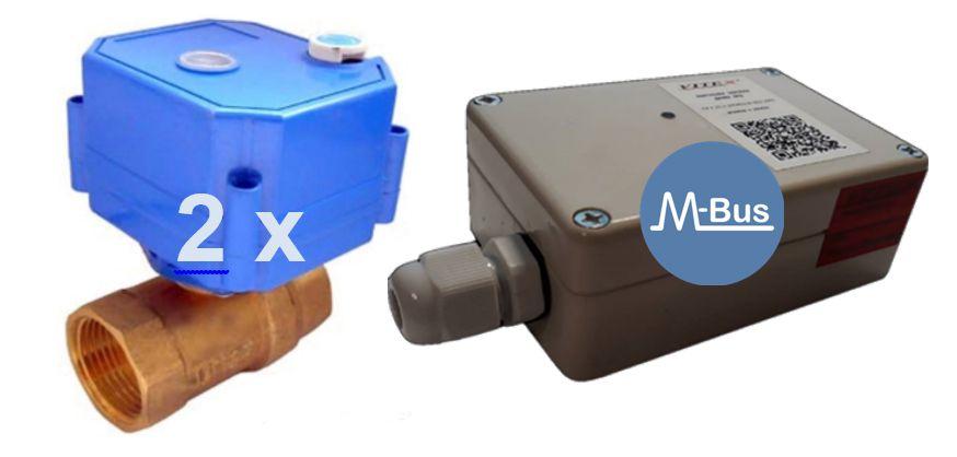 Контроллер управления подачей воды с интерфейсом M-Bus ВРД 05.010